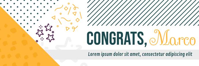 Congratulatory Email Header
