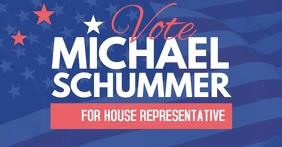 Congress election campaign 2020 vote video auf Facebook geteiltes Bild template