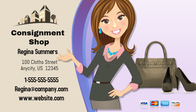 Consignment Shop Business Card