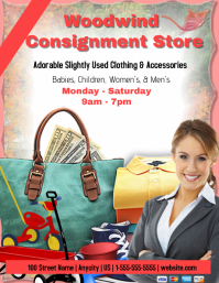 Consignment Store Template
