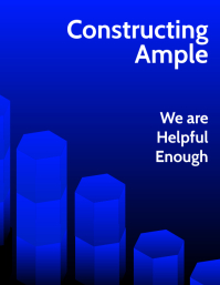 Constructing Ample Business Poster Template