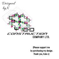 Construction Building Company Logo template