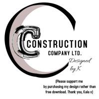 Construction Building Company Logo Logotipo template