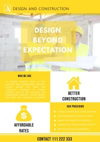 CONSTRUCTION BUSINESS FLYER VIDEO TEMPLATE
