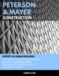 Construction Company Flyer