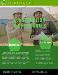 construction company flyer template,small business flyer,