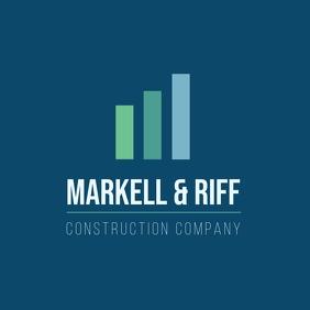 Construction company logo design template