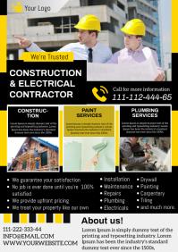 construction A4 template