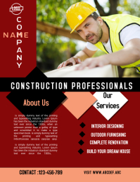 construction flyer,small business flyer