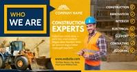 Construction services facebook advertisement Reklama na Facebooka template
