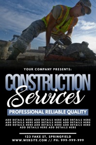 Construction Services Poster