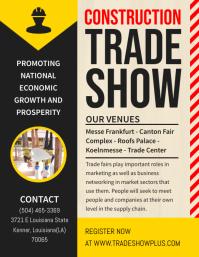 Construction Trade Show Flyer