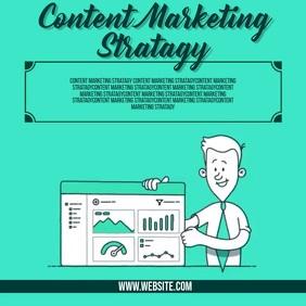 content marketing ad SOCIAL MEDIA TEMPLATE Kwadrat (1:1)