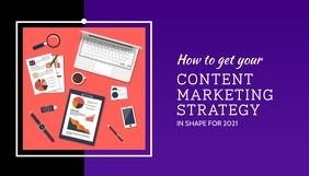 Content Marketing Strategy Blog Post Header