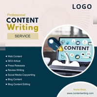 Content Writing Instagram Post template
