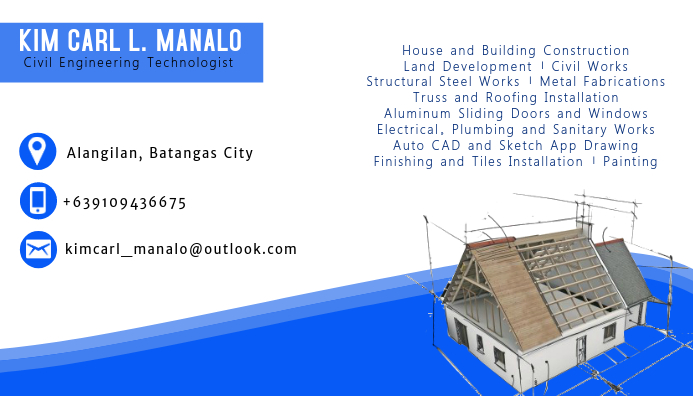 Contractor's Business Card