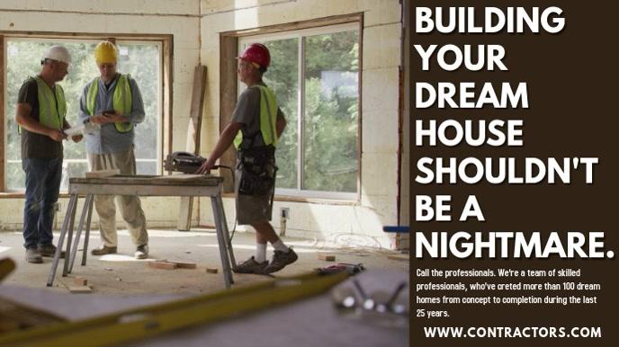 Contractors Video Ad Template