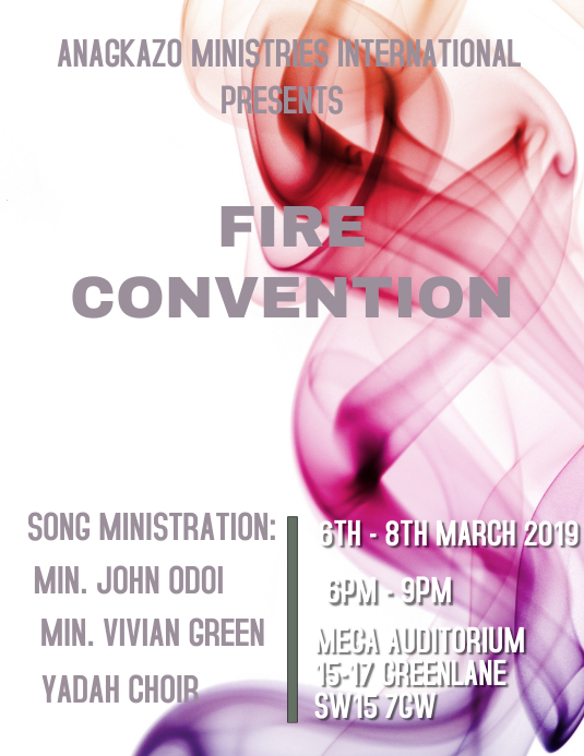 Convention Flyer