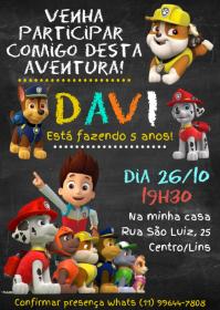 Convite Festa Patrulha Canina - 002