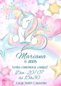 Convite Festa Unicórnio - 005