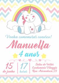 Convite Festa Unicórnio - 006