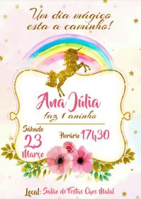 Convite Festa Unicórnio - 010