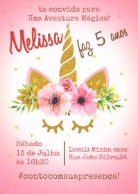 Convite Festa Unicórnio - 016