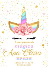 Convite Festa Unicórnio - 022