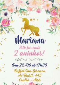 Convite Festa Unicórnio - 023