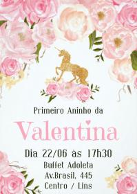 Convite Festa Unicórnio - 031