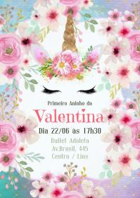 Convite Festa Unicórnio - 040