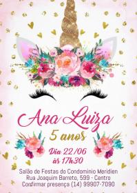 Convite Festa Unicórnio - 045