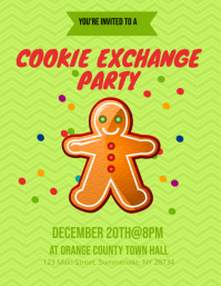 Cookie Exchange Party Flyer