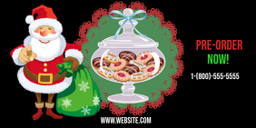 Cookie Sale Twitter-bericht template