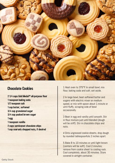 Cookies Recipe Food Baking Homemade Tutorial