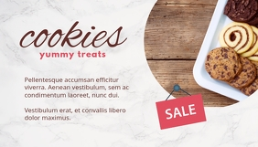 Cookies Sale Blogkop template