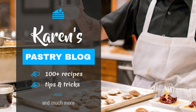 Cooking Blog Header Blogkop template