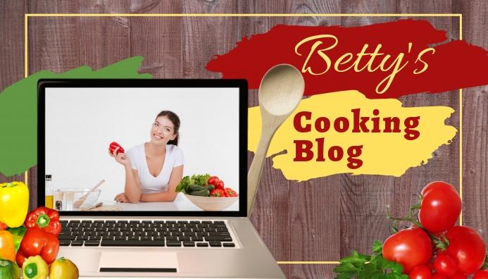 Cooking Blog Header ส่วนหัวบล็อก template
