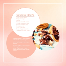 Cooking Blog Template Advert Marketing