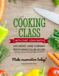 Cooking Class Flyer