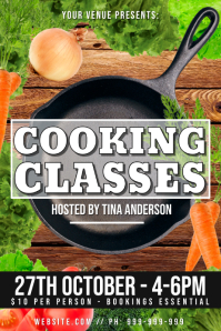 Cooking Classes Poster