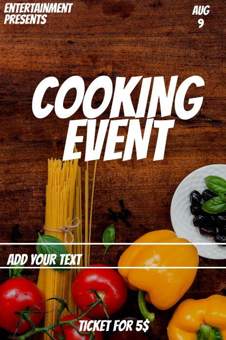 Cooking event
