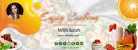 Cooking Recipes Facebook Cover Photo Template