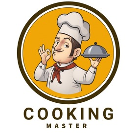 COOKING restaurant logo editable