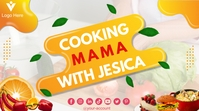 Cooking Youtube Channel Cover Photo template