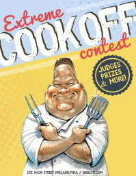 Cookout Contest Pamflet (VSA Brief) template