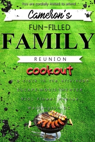 Cookout Invitaton