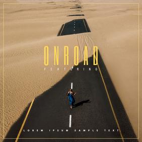 Cool Album Cover Portada de Álbum template