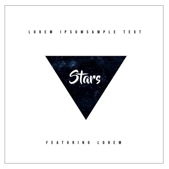 Cool Album Cover video Triangle Design