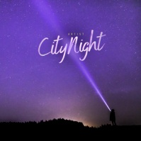 Cool Music Album cover design template